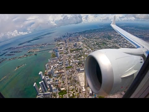 Beautiful Miami Takeoff – Boeing 737 Max 8 – American Airlines – MIA – Short Clip Series Ep. 2