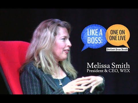 Like A Boss - Melissa Smith - President and C.E.O of WEX.