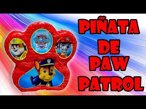 Piñata By De PatrolLive Paw Vistiendo Fiesta Sparks f6ym7gIYvb