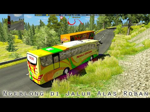 Ets2 Indonesia || Tes Map Java Road Edition (JARE $) Jalur Maut Alas Roban