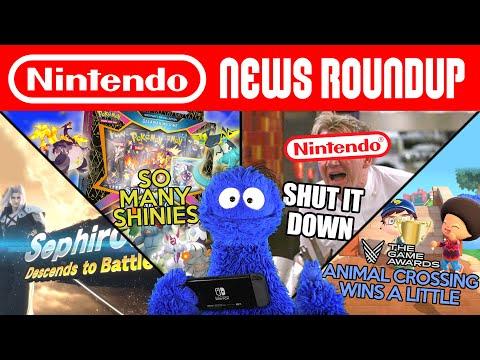 Nintendo Shuts Everything Down... But Sephiroth Though! | NINTENDO NEWS ROUNDUP