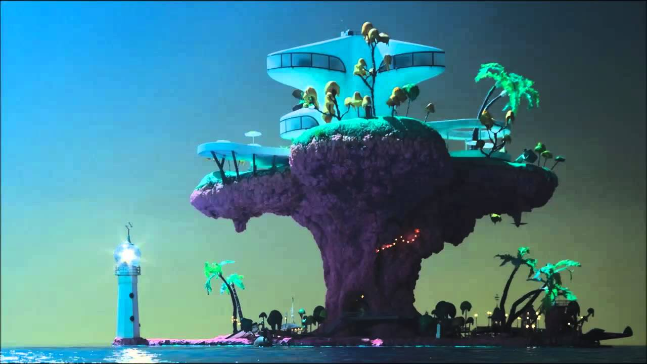 gorillaz wallpapers plastic beach - photo #17
