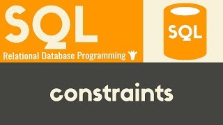 Constraints - SQL - Tutorial 8