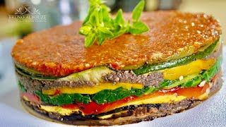 Provencal Vegetable Cake – Bruno Albouze – THE REAL DEAL
