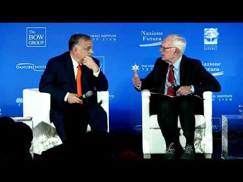 Prime Minister Viktor Orbán: Interview with Chris DeMuth | NatCon Rome 2020