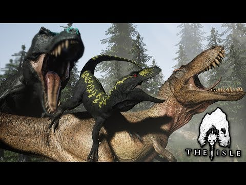 A Fight For Survival!!! - Life of a T.rex | The isle - Part 2 from YouTube · Duration:  21 minutes 19 seconds