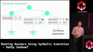 #HITB2018DXB D1T1: Rooting Routers Using Symbolic Execution - Mathy Vanhoef