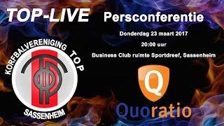 Persconferentie TOP/Quoratio, donderdag 23 maart 2017