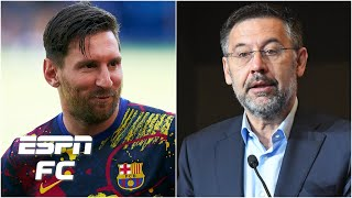 Barcelona president resigns: This is 'A BIG VICTORY' for Lionel Messi - Mark Ogden | ESPN FC