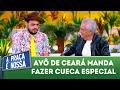 Avô de Ceará manda fazer cueca especial | A Praça é Nossa (19/07/18)