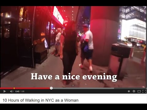 Blunt 10 Hours of Walking in NYC as a Woman Response