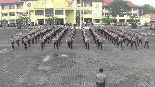 Latihan Beladiri Polri dan Tarung Derajat Dalmas Polda Jabar