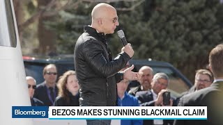 Bezos Accuses National Enquirer of Blackmail Over Photos