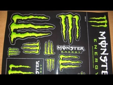 How to get FREE Monster Energy Stickers