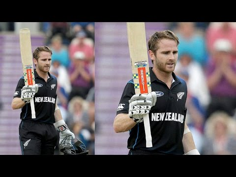 Kane Williamson hits century against India in 2nd ODI  | वनइंडिया हिन्दी