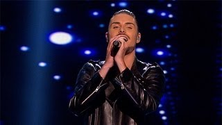 Rylan Clark sings for survival - Live Week 8 - The X Factor UK 2012