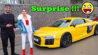 MY LAST DAY WITH HER *SUPERCAR SURPRISE*