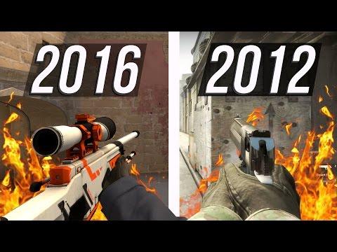СРАВНЕНИЕ CS:GO 2012 и 2016