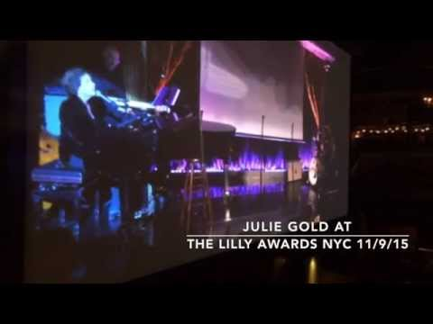 The last 27 seconds of Julie Gold at The Lilly Awards