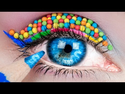 DIY Makeup Life Hacks! 12 DIY Makeup Tutorial Life Hacks for Girls
