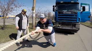 RaddyТест Человек VS Scania R420
