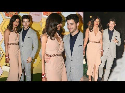 Priyanka Chopra with Nick Jonas spotted at Delhi dinner date latest Pics video Lifestyle story Mp3