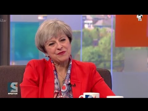 Watch Theresa May answer a question from Robert Peston