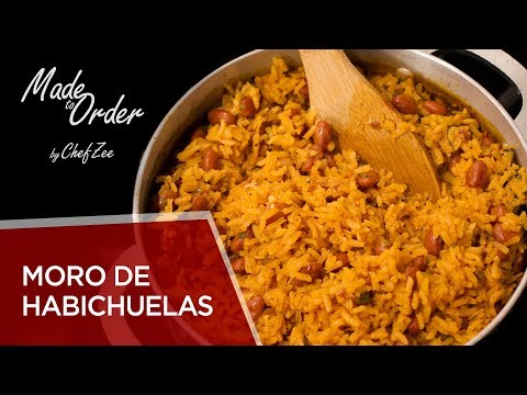 Moro De Habichuelas | Rice & Beans | Dominican Recipes | Made To Order | Chef Zee Cooks