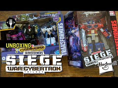 Unboxing: Optimus Prime - Transformers Seige War For Cybertron
