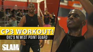 Chris Paul Exclusive Workout at CP3 Elite Guard Camp! OKC's Newest PG!