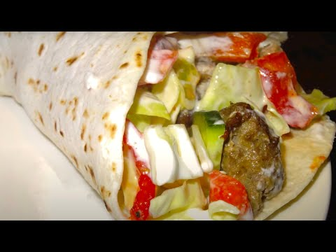 Homemade Kebab Durum Style - Recipe #35