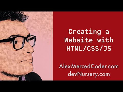 Creating a Website with HTML/CSS/JS #4 - Images, Classes, IDs and Jquery thumbnail