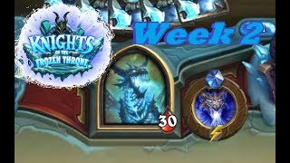 Hearthstone: Knights of the Frozen Throne: Solo Adventure - Week 2 - The Upper Reaches