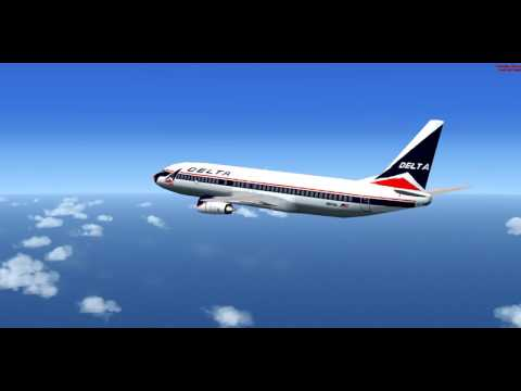 Boeing 737-400 Delta Airlines Flight 933 MKJS-KLAX Pilot Hijacking gone wrong/Ditching