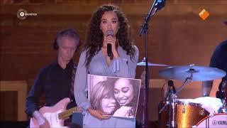 Romy Monteiro zingt my way voor haar Oma (Nederland staat op tegen kanker)