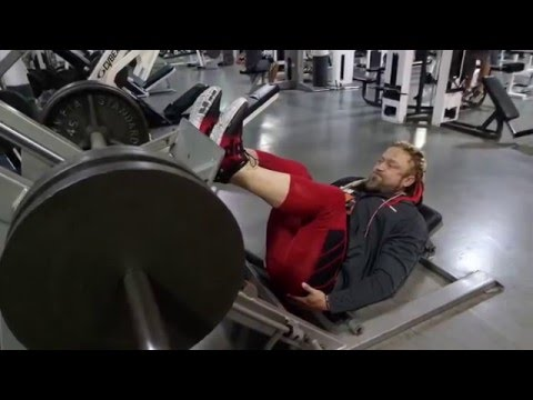 High Foot Placement Glute/Ham Tie-in Press