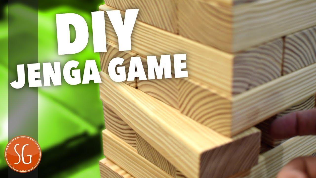 How to make a giant jenga - YouTube