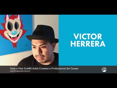 Interview with Victor Herrera — How a Past Graffiti Artist Created a Professional Art Career