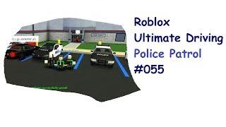 Roblox: Ultimate Driving | Police Patrol #055 | XL Episode + Exploration| [EN]