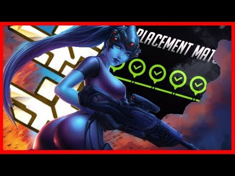 Overwatch Season 8 PLACEMENTS! 10-0? PS4 Top 500 Widowmaker Only!!