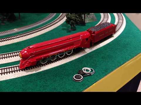 Custom American Flyer Circus 353 4-8-2 Steam Engine
