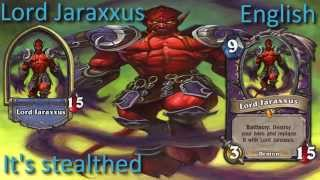 You face Jaraxxus! in 12 languages - Hearthstone✔