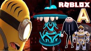 * FINAL BOSS * TODOS OS NIVELES CONCLUÍDA! | Minions aventura Obby Roblox! Forças desprezíveis! (Parte final)