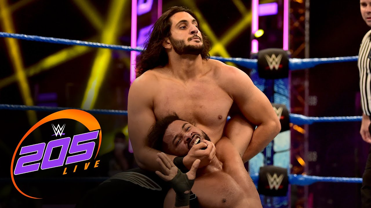 Mansoor vs. Tehuti Miles: 205 Live, July 17, 2020