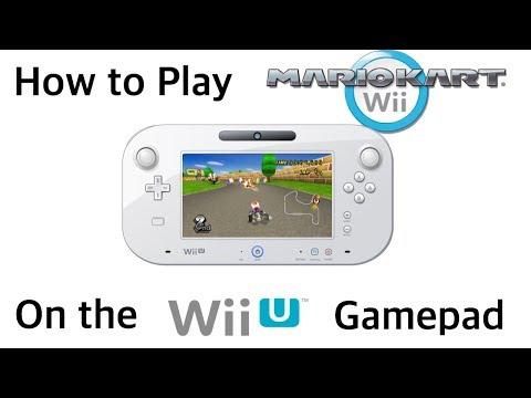 How to get MKWii playable on wiiu gamepad | Mario Kart Amino
