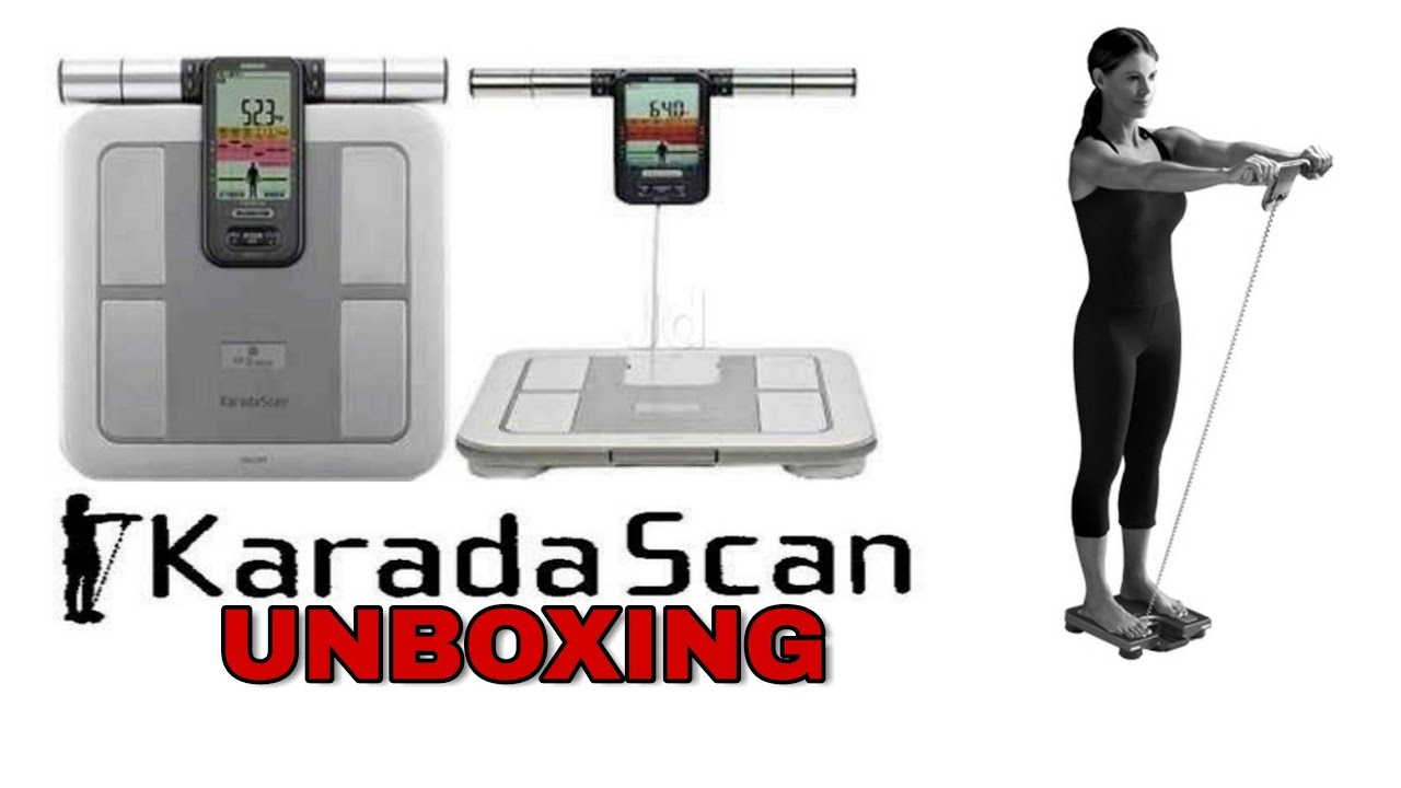 Omron Karada Scan weighing Machine unboxing and Review in