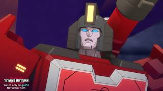 Transformers: Titans Return Official Trailer – new go90 show