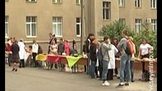 Курские студенты ветеринары провели благотворительную ярмарку