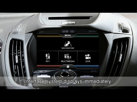 video multimedia gps navigation interface for ford kuga. Black Bedroom Furniture Sets. Home Design Ideas