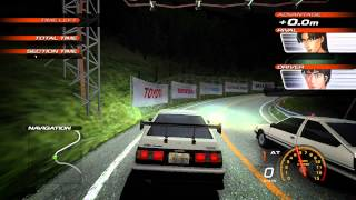 Initial D Extreme Stage Walkthrough/Gameplay PS3 HD #2